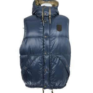 Polo Ralph Lauren Vintage Puffer Vest Hooded Patch